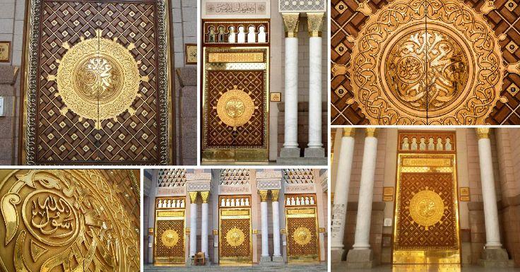 Kerajinan Tembaga - Replika Pintu Nabawi