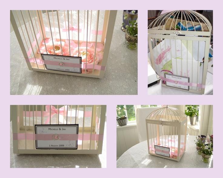 Michelles passion & bröllop: Card box