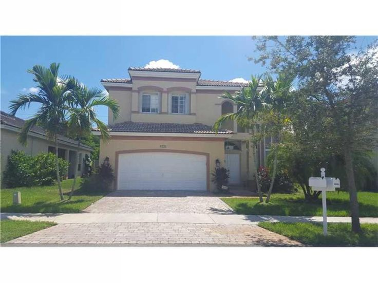 Beautiful, Mediterranean style 4/2.5 home in exclusive gated Shores at Keys Gate. Perfect home for children & pets.  Tiled throughout w/ laminate wood floors upstairs. Kitchen with granite counter tops, stainless steel appliances, pantry and breakfast area. Spacious master bedroom with plenty of light and large walk-in closet. Large master bath with separate shower/tub & double sinks. Accordion shutters & large fenced back yard. Rent includes basic cable.  Will be gone soon!