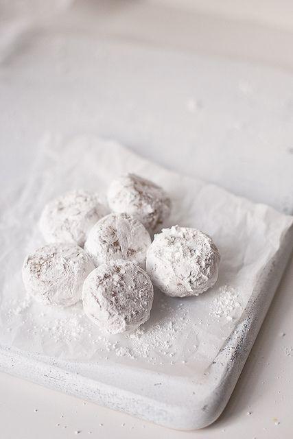 Kaju Katli Revisited (Vegan and Glutenfree Cashew thins and truffles) for Diwali - YUM!