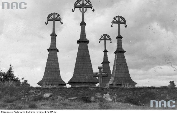 cmentarz wojskowy nr 51 na Rotundzie, Beskid Niski https://audiovis.nac.gov.pl/i/PIC/PIC_1-U-8447.jpg