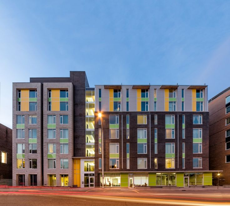 Barry J. Hobin & Associates Architects - The Beaver Barracks Community Housing, Ottawa, Canada #housing