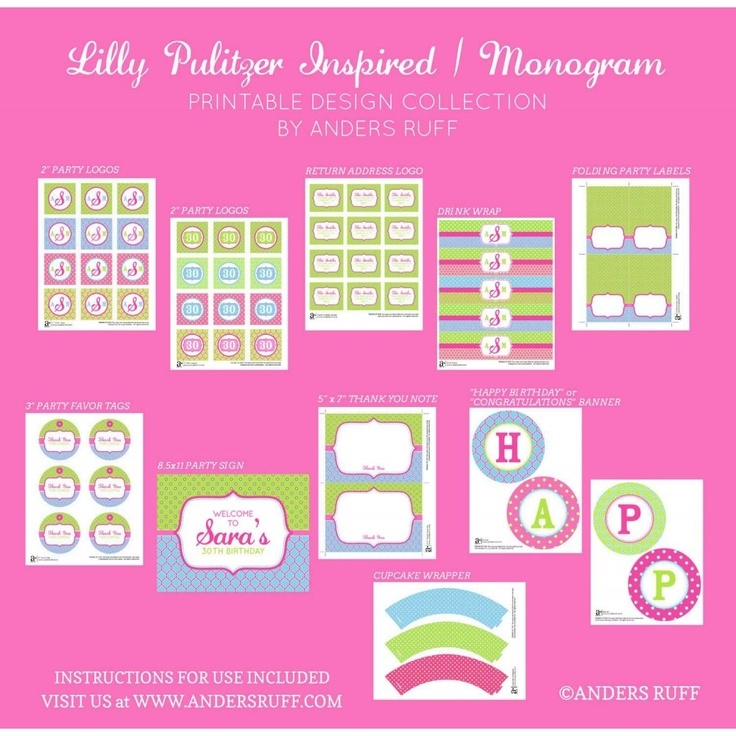 Lilly Pulitzer Font