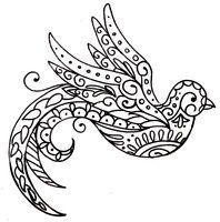 Paisley Bird Tattoo by Metacharis on deviantART