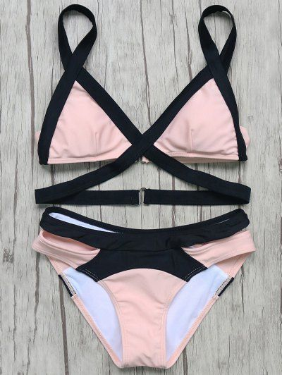 GET $50 NOW | Join Zaful: Get YOUR $50 NOW!http://m.zaful.com/patchwork-bandage-bikini-set-p_251449.html?seid=1775949zf251449