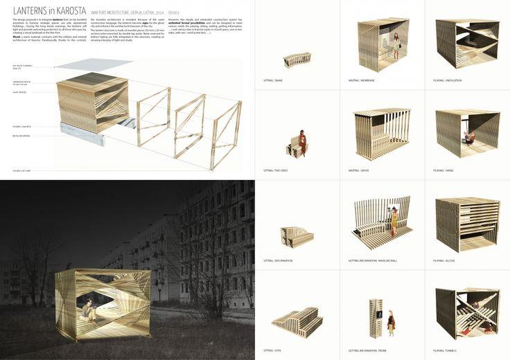 "Architecture competition ""War Port Microtecture"" honorable mention - Anouk Dandrieu / Delphine Quach"