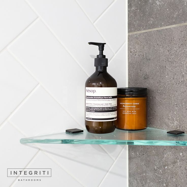 Need a little extra space in your shower for toiletries? Add a nice little single corner shelf. . #integritibathrooms #custommade #sydneybathroom #interiordesign #bathroom #bathroomremodel #bathroomrenovation