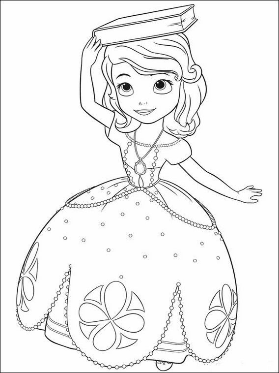 Pin Auf Princesa Sofia Dibujos Para Dibujar