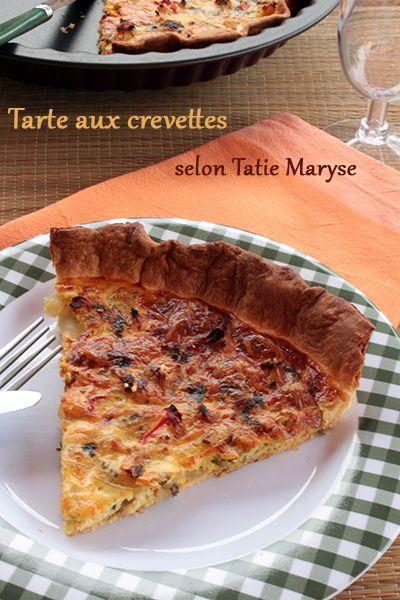 Voici une recette de tarte aux crevettes express, relevée délicatement d'épices antillaises... Un pur délice que partage la blogueuse Tatie Maryse!