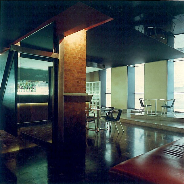 CafBarroom, BarRestaurantKulturbetrieb Skala, Wien, 1989 by ferguswu, via Flickr