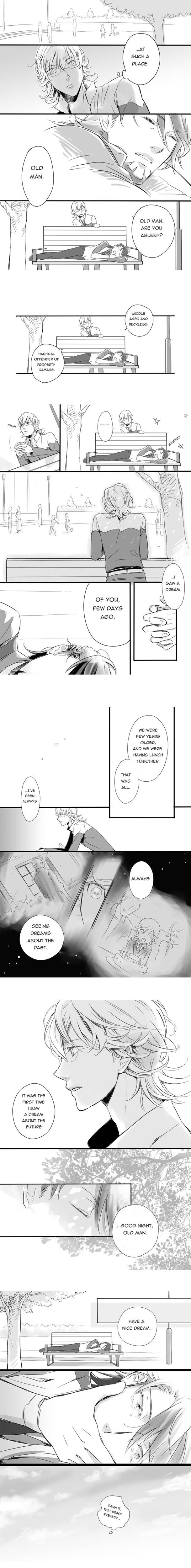 Barnaby and Kotetsu. T_T This is so sad and so sweet at the same time! - Tiger and Bunny