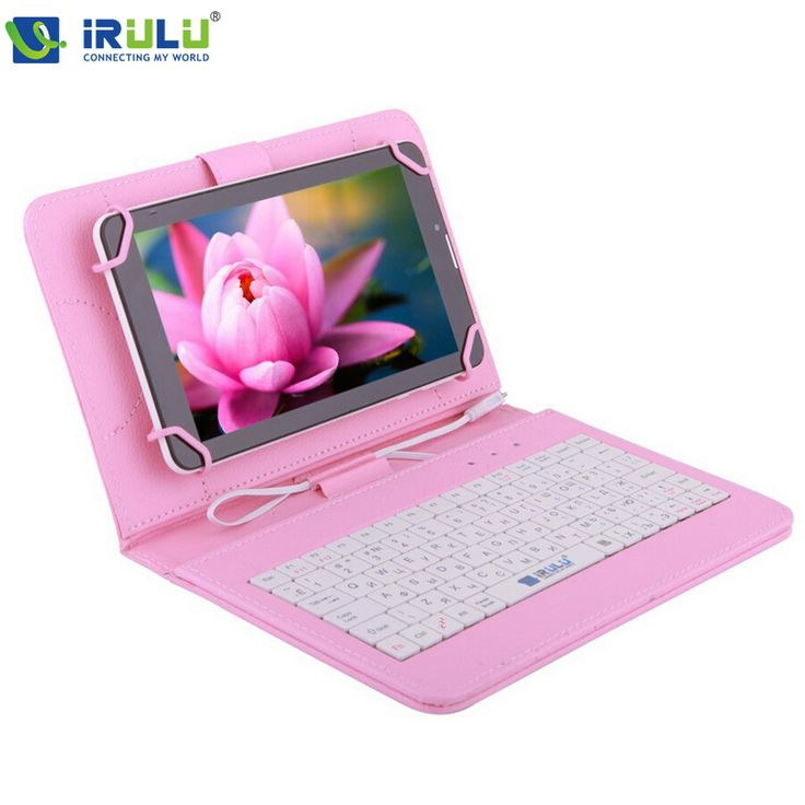 "IRULU Brand RUSSIAN KEYBOARD for 7""Tablet PC Leather Micro USB Keyboard Case Using Russian Language People 2015 Newest Hot-in Covers & Cases from Computer & Office on Aliexpress.com 