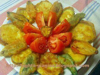 Τα φαγητά της γιαγιάς - Λαχανικά τηγανιτά με χυλό μπύρας