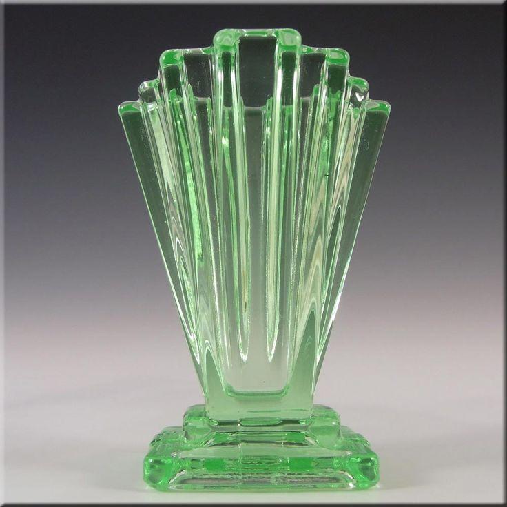 17 best images about art deco glass on pinterest serving bowls blue glass vase and glass vase. Black Bedroom Furniture Sets. Home Design Ideas