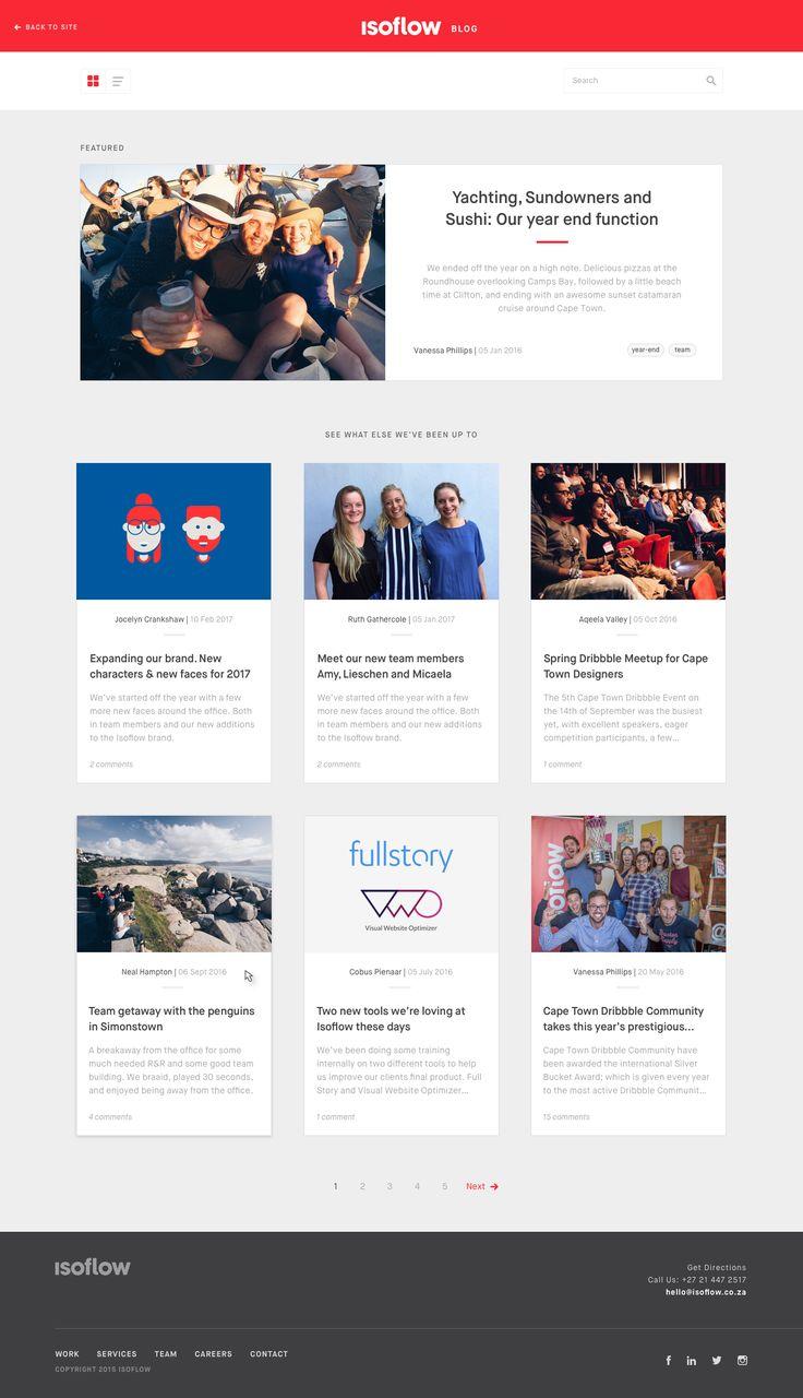 Blog Design Exploration
