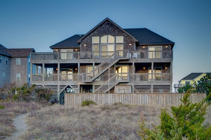 Besito Del Mar 115 is a 6 bedroom, 5 bathroom Oceanfront vacation rental in Salvo, NC. See photos, amenities, rates, availability and more details to book today!
