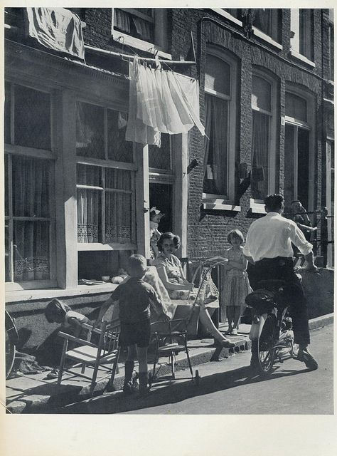 Kees Scherer 24 uur Amsterdam,Jordaan straat 1957 | Flickr - Photo Sharing!