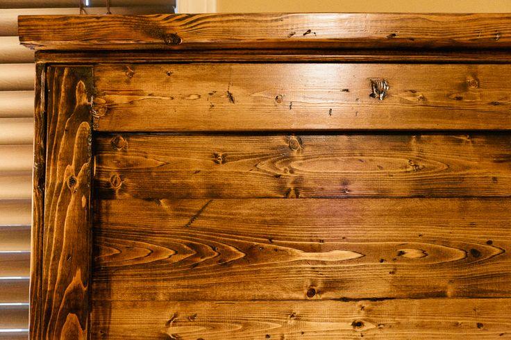 Wood Type Pine Stain Minwax Dark Walnut Seal Minwax