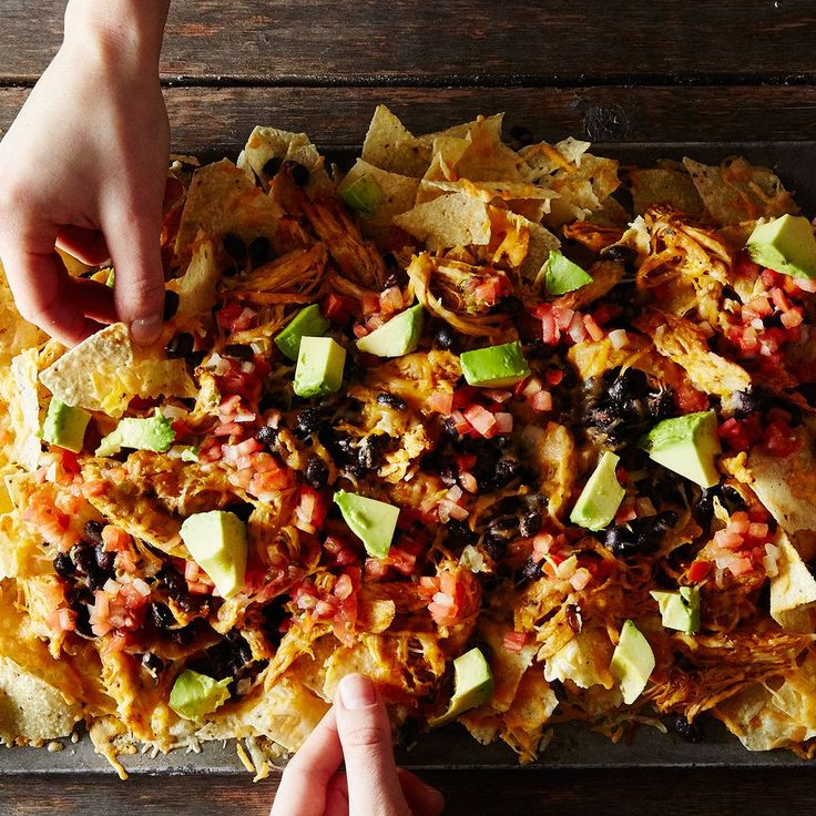 26 recipes as good cold as hot... Super(bowl) Chicken and Black Bean Nachos  recipe on Food52