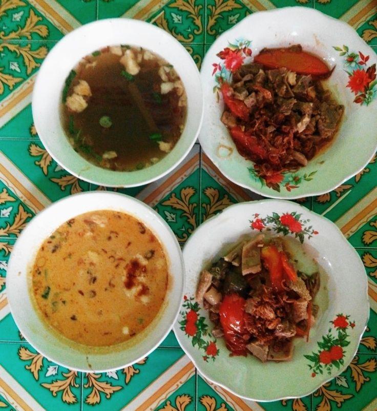 Oseng-oseng daging H.Mamat BSD City Tangerang Selatan. Tersedia menu istimewa lainnya: Soto Betawi, Sop Daging, Ayam Goreng, Empal Goreng, Nasi Goreng, Gado-gado, Karedok dll.
