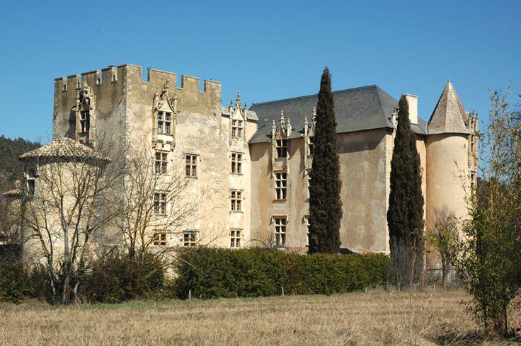 Château d'Allemagne-en-Provence (Alpes-de-Haute-Provence).