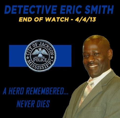 Detective Eric Smith of Jackson Police Department Found Dead ~ Sanctified Church Revolution    http://sanctifiedchurchrevolution.blogspot.com/2013/04/detective-eric-smith-of-jackson-police.html#.UWQ9G1d49NI