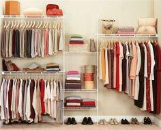 Fotos de Closet de rejilla ó melamina para ordenar tu ropa 1