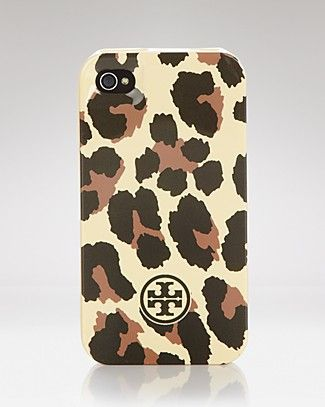 Tory Burch iPhone Case - Leopard   Bloomingdale'sIphone Cases, Iphone 4S, Tory Burch, Hardshell Iphone, Phones Cases, Leopards Prints, Burch Iphone, Iphone 4 Cases, Toryburch