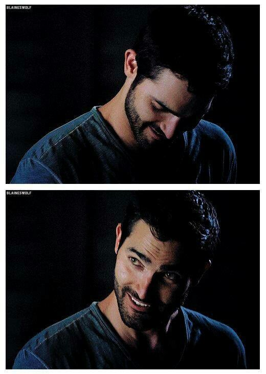 That Derek Hale smile :D Funny....I was just thinking about Derek's cutie pie smile tonight at work....got me through the hellishness <3 haha 4-23-16