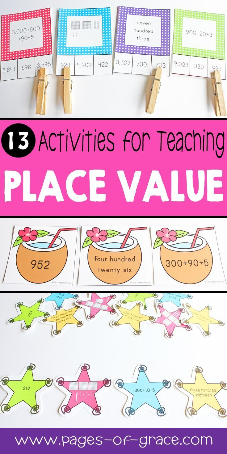 728 best k 2nd grade math images on pinterest learning activities place value unit second grade math falaconquin