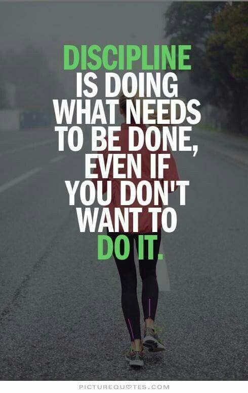 #selfdiscipline