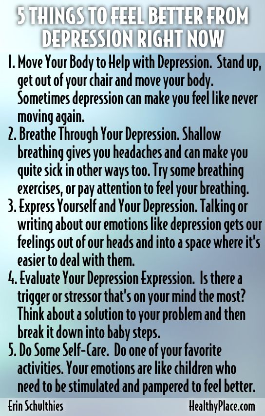 best ways to deal with depression Expert reviewed how to deal with depression four parts: diagnosing and treating depression making lifestyle changes changing your behavior changing your negative thinking patterns community q&a feeling down or blue is a natural part of life people let us down, things go wrong, we lose people we love or the dreams we've valued.
