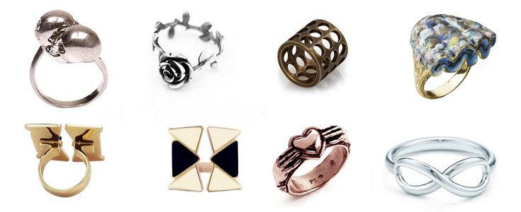 10 rings under 150€  #ring #rings #mcqueen #kenzo #roses #tiger #infinity #coquillage #skull #skulls #rose #anchor #anello #anelli #tigre #teschio #infinito #rose #ancora