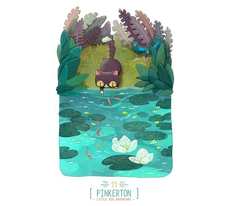 Pinkerton: Little Big Adventure on Behance