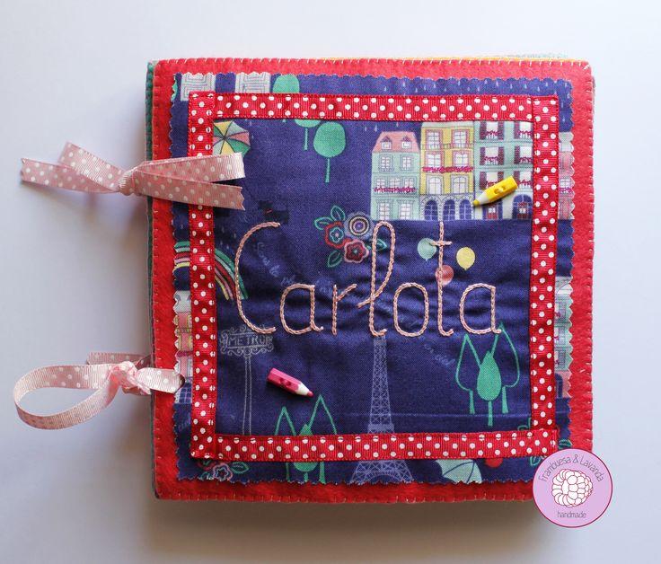 #libro #personalizado #actividades #sensorial #fieltro #tela #hechoamano #bebe #niños #infantil #fabric #baby #handmade