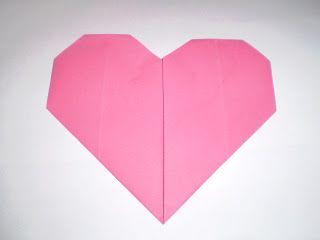 ARTE BUGIGANGA: Coração em dobradura