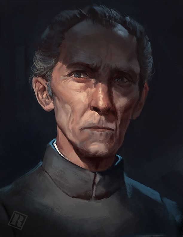 Grand Moff Tarkin by Raph Lomotan on ArtStation #starwars #fanart