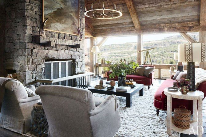 A Rustic Montana Mountain Retreat