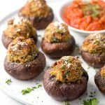 Stuffed Mushrooms with Italian Sausage