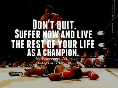 Never quit. Keep going and you will succeed.. Repin and like if you agree!