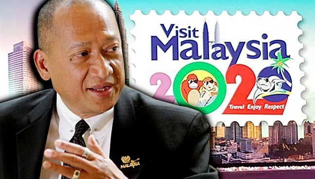 Visit Malaysia logo: It was free and everyone praised it says Nazri   'Nazri Aziz never backtracks; this is what will be used for the world only one logo no other logo' says tourism and culture minister.  PETALING JAYA: Tourism and Culture Minister Nazri