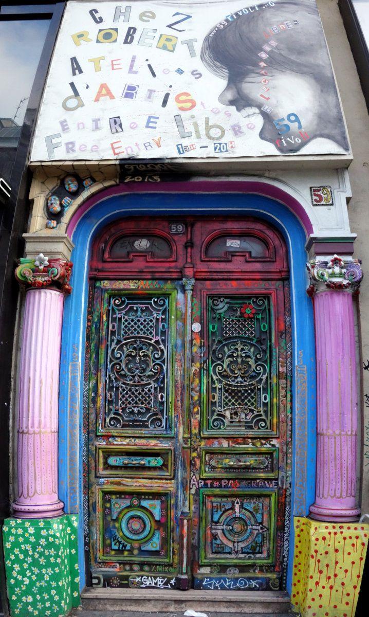 paris-artists-building-door
