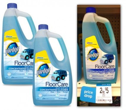 Pledge Floor Care, Only $1.00 at Kmart!