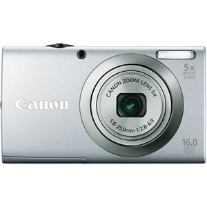 Canon PowerShot A2300 16.0 MP Digital Camera (silver) Auction