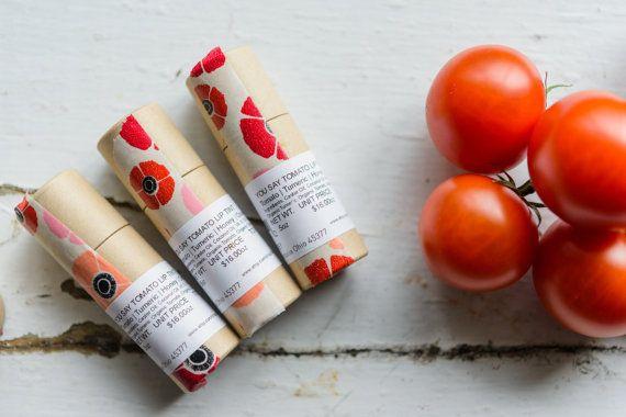 NEW Tomato Turmeric Honey Orange Lip Tint par SkinFoodbyAubrey