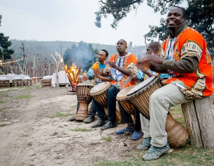 Drumming under the Africa Sky