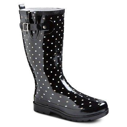 Women's Western Chief Rain Boots - Black