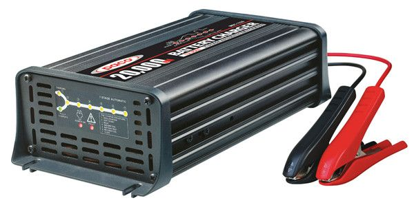 12v 20a Automatic Leisure Battery Charger - Alpha Batteries