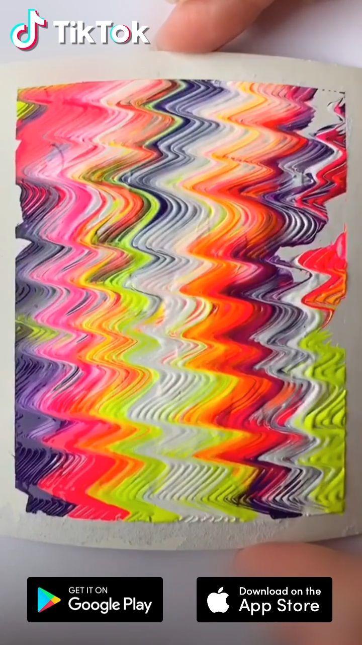 Einfaches Kunstmalerei Tutorial Laden Sie Tiktok Herunter Um Mehr Zu Finden Diy Und Painting Ide Diyideaseasy Club Painting Crafts Simple Art Diy Art