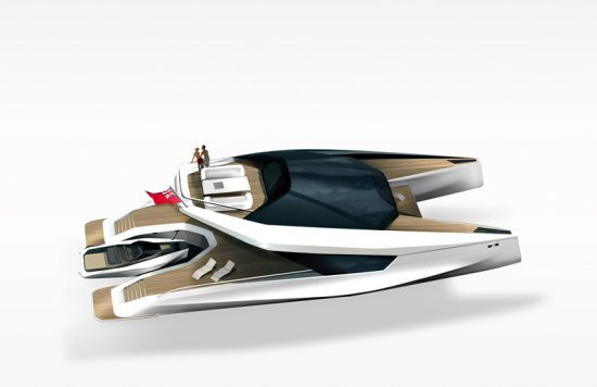 115' Power Catamaran Concept : un catamaran de rêve